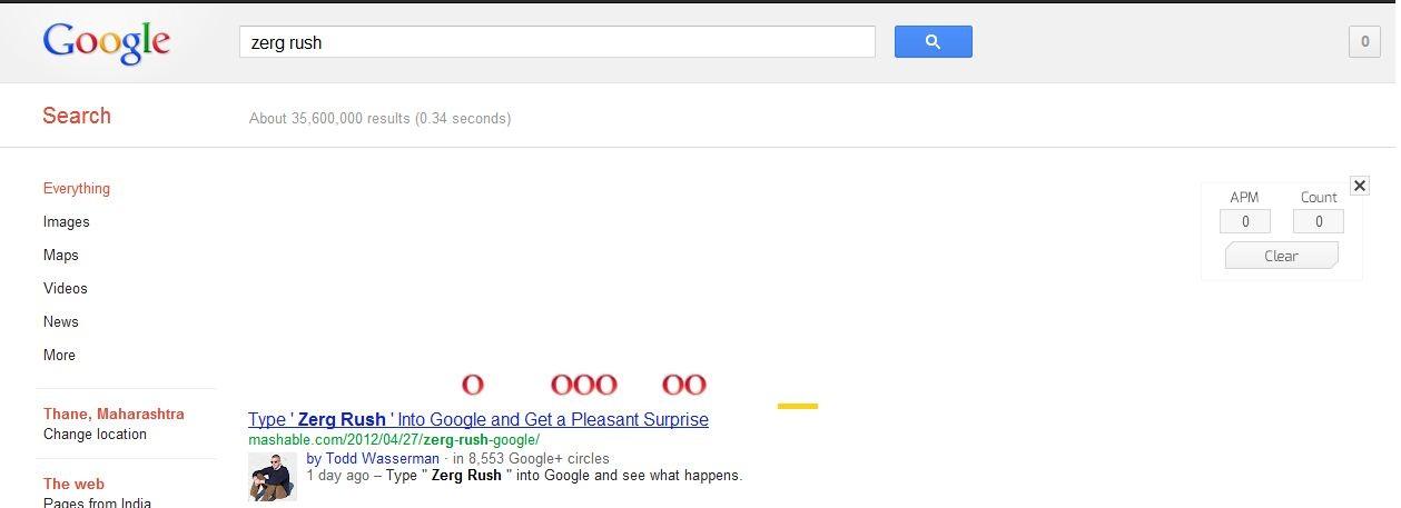 google zerg rush scenario solution