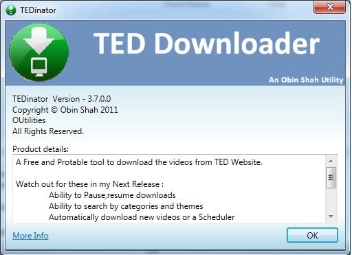 TEDinator V3.7