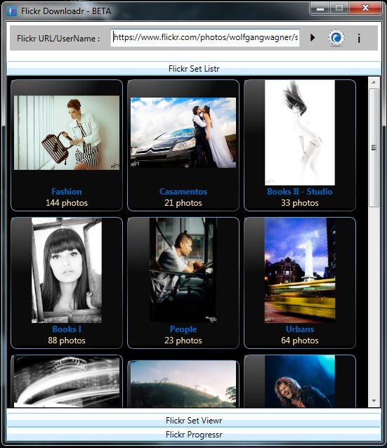 Flickr Downloadr - Listr