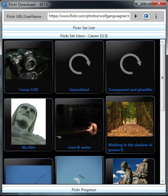 Flickr Downloadr - Viewr
